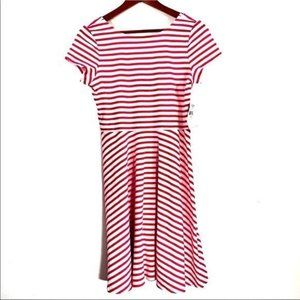 American Living Pink And White Stripe Dress NWT